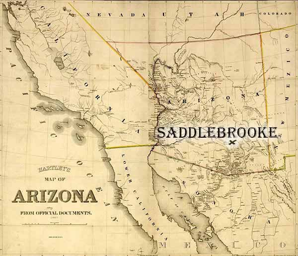SaddleBrooke Arizona Map